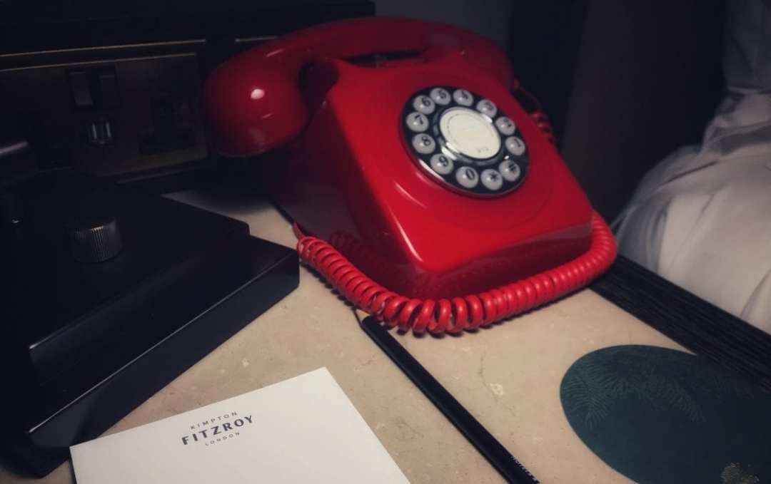 Kimpton red phone