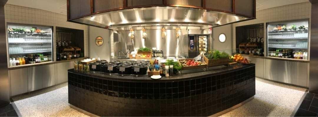 KLM Lounge Kitchen