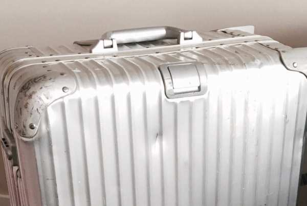 Rimowa dented