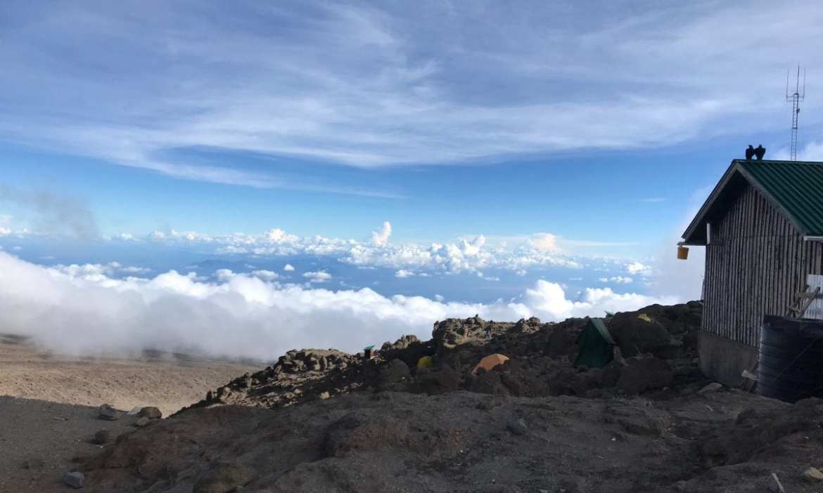 Basecamp in the clouds
