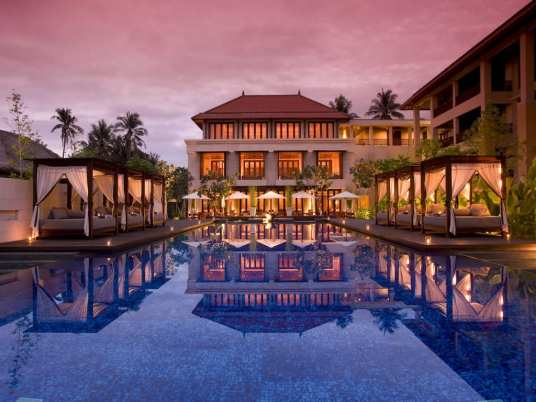 Conrad resort in Bali