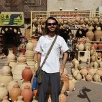 In the Souq - Nizwa is famous for pottery.