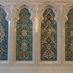 The designs were this intricate on every wall.