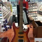 Crazy guitar I saw at the Virgin Megastore!