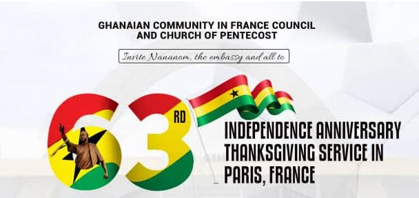Independence Anniversary Thanksgiving Service in Paris, France