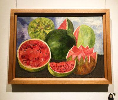 Quadro pintado por Frida - Viva la vida