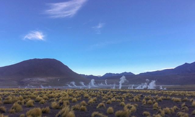 Geysers el Tatio, Deserto do Atacama, no Chile