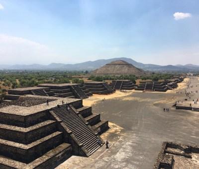 Sítio arqueológico Teotihuacán, no México
