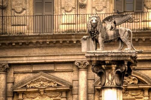 Leone a Verona