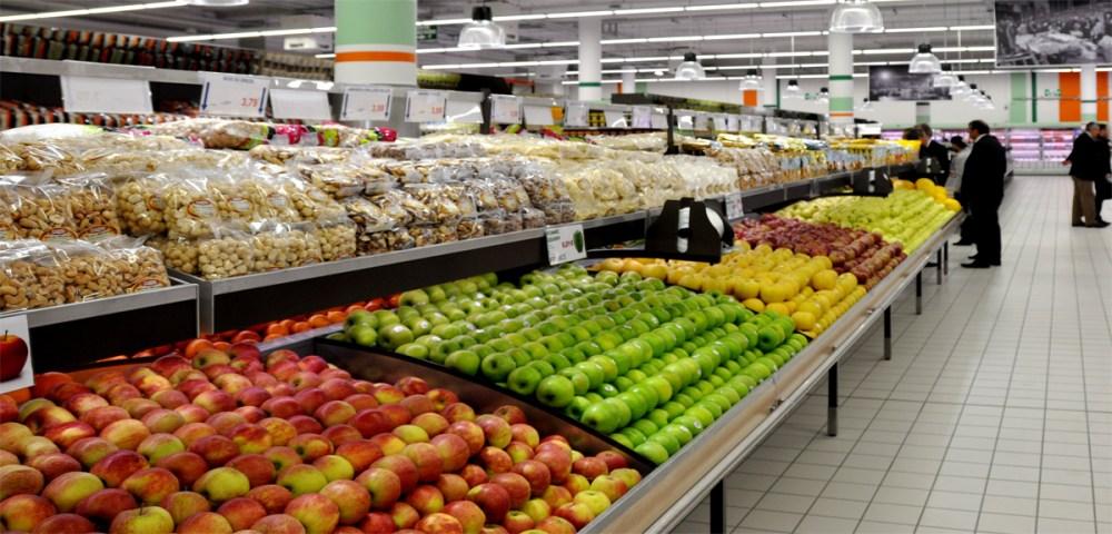 O marché frais La Courneuve fruits 1200