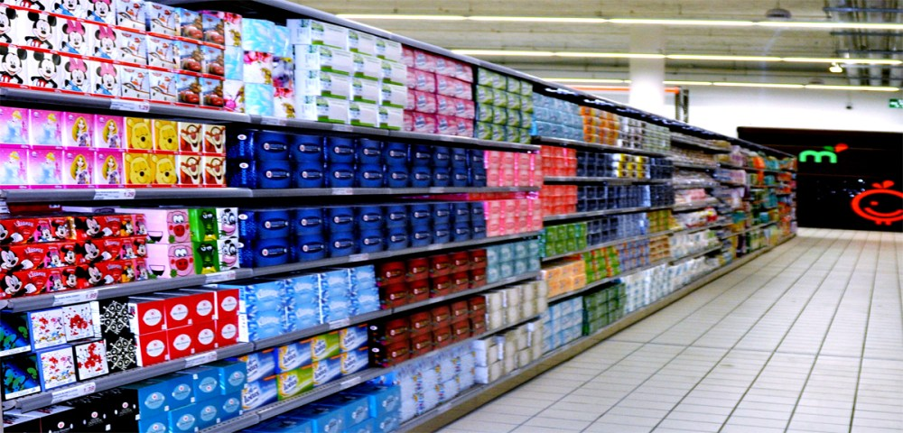O marché frais La Courneuve Hygiene 1200