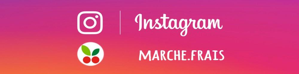 instagram Marché Frais, magasin de fruits et légumes frais