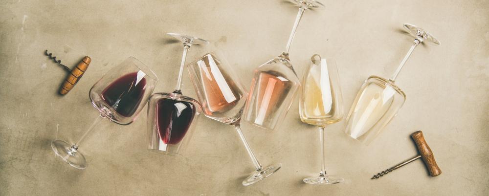 vin rouge vin blanc vin rosé - foire aux vins marché frais