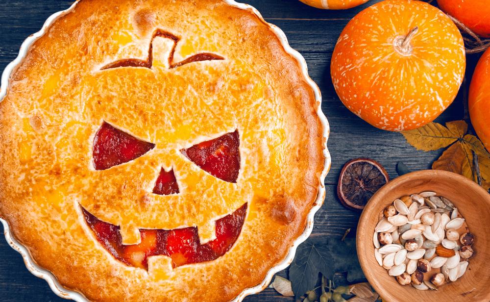 tarte d'halloween - marché frais supermarché ouvert le dimanche
