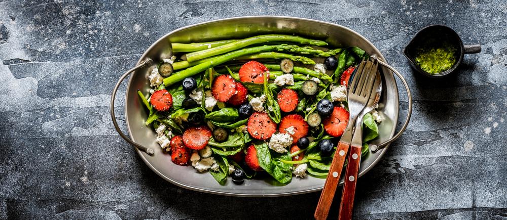 salade de fruits et légumes du mois de Mai