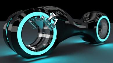 Moto Tron_v2 bleue