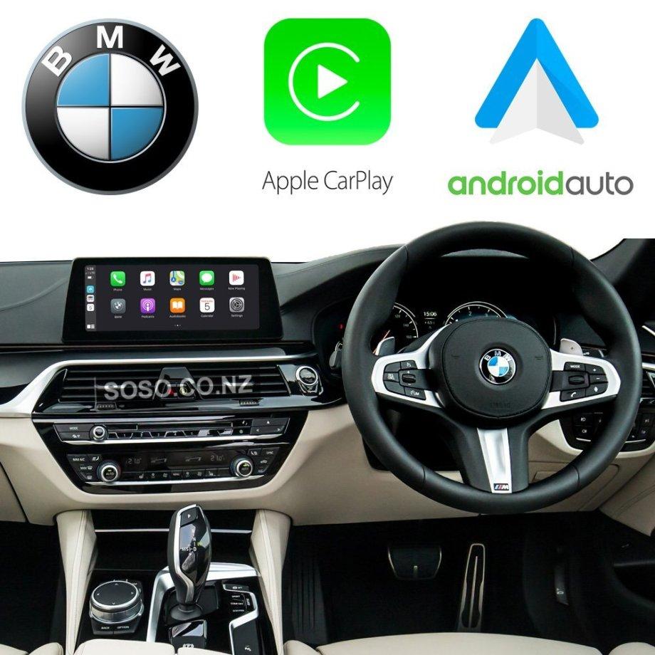Auto Retrofit - BMW EVO iDrive Apple CarPlay & Android Auto Retrofit Kit (Wireless)