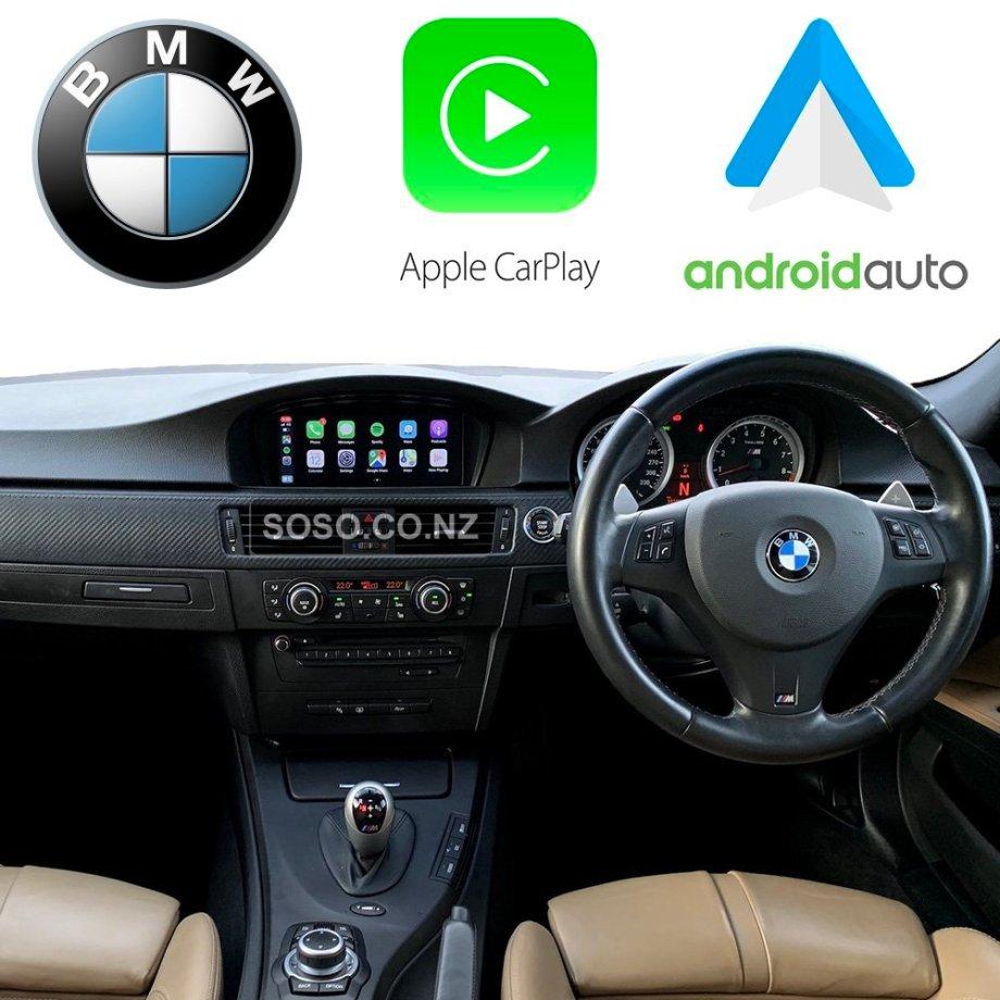 Auto Retrofit - BMW CIC iDriveApple CarPlay & Android Auto Retrofit Kit (Wireless)