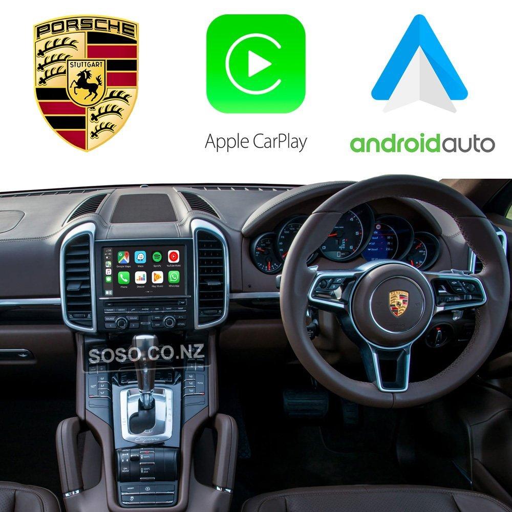 Auto Retrofit - Porsche PCM 3.1 / CDR+ Apple CarPlay & Android Auto Retrofit Kit