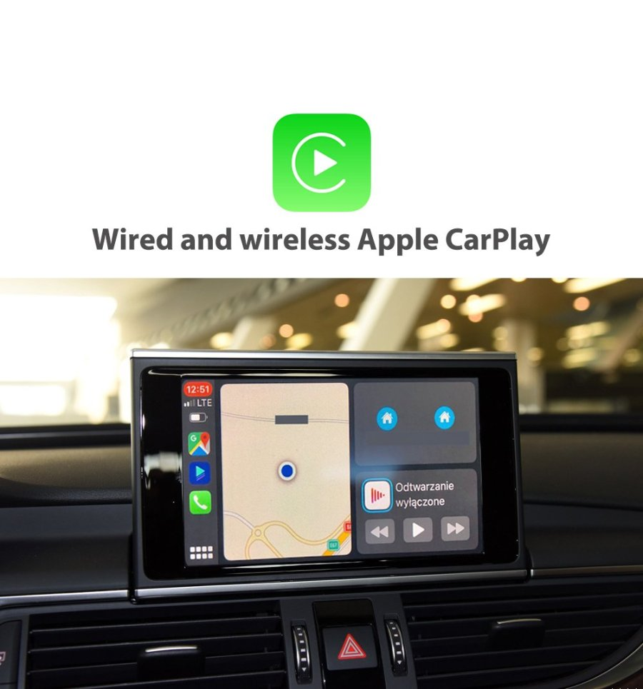 Auto Retrofit - Audi A5 S5 RS5 (2009-2015) Apple CarPlay & Android Auto Retrofit Kit