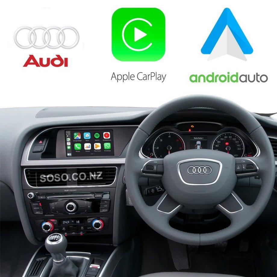 Auto Retrofit - Audi Symphony & Concert Apple CarPlay & Android Auto OEM Integration Kit (Wireless)
