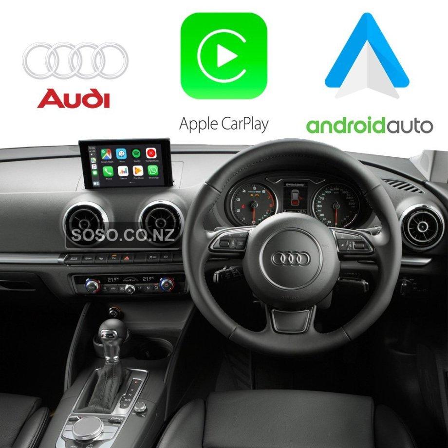 Auto Retrofit - Audi A3 S3 RS3 (2012-2018) Apple CarPlay & Android Auto Retrofit Kit