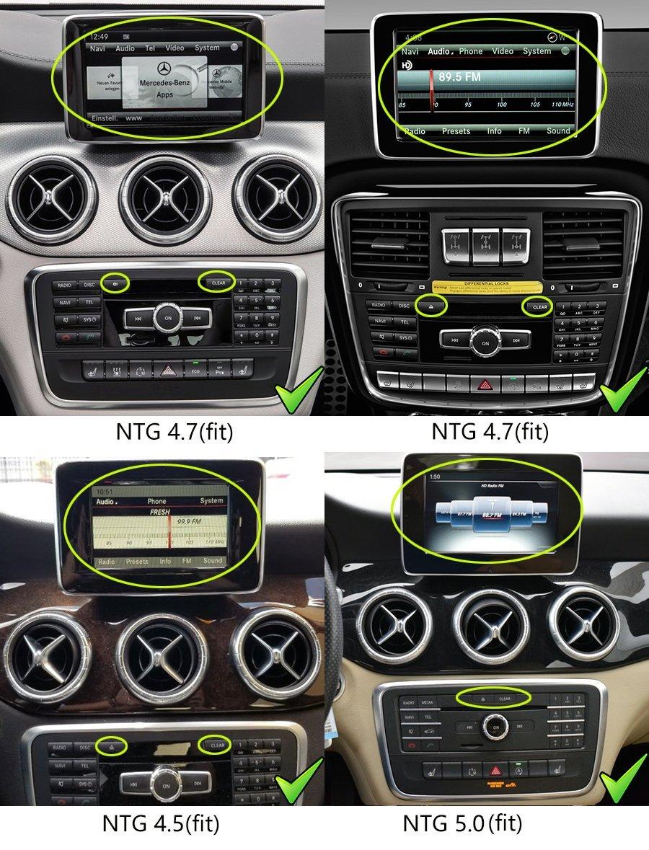 Mercedes-Benz A/B/CLA/G/GLA 2011-2018 radio upgrade