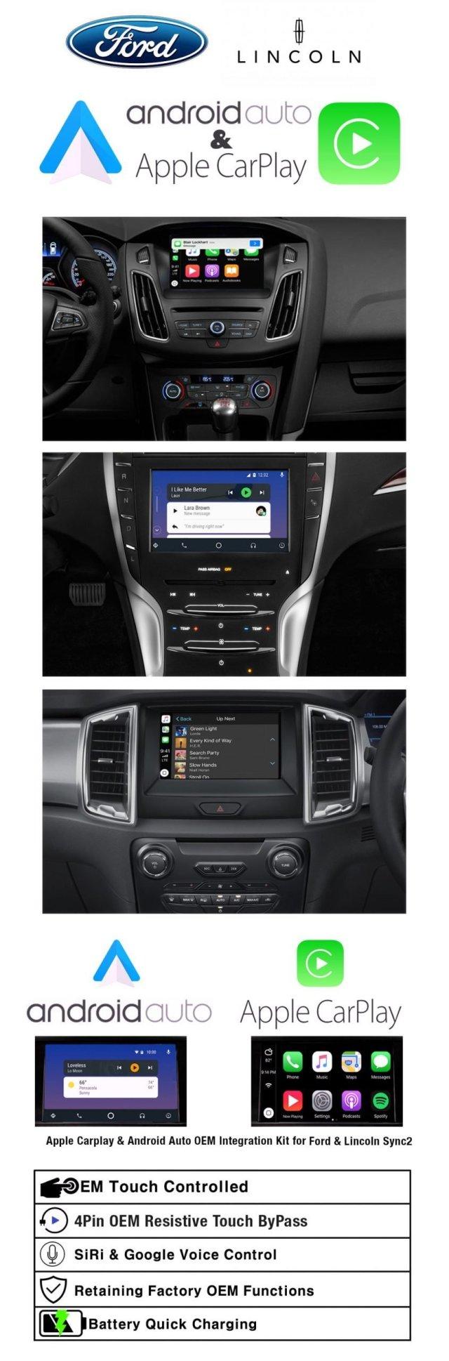Ford Sync2 Apple Carplay