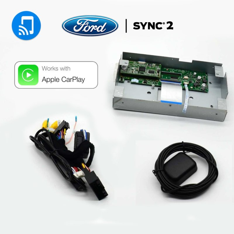 Auto Retrofit - Ford F-150 Wireless Apple CarPlay & Android Auto Integration Kit