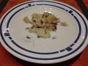 Milchsuppe mit Kartoffel