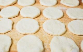 gefüllte Brottaschen
