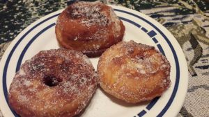 Apfel Donuts