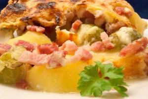 Rosenkohl Kartoffel Auflauf