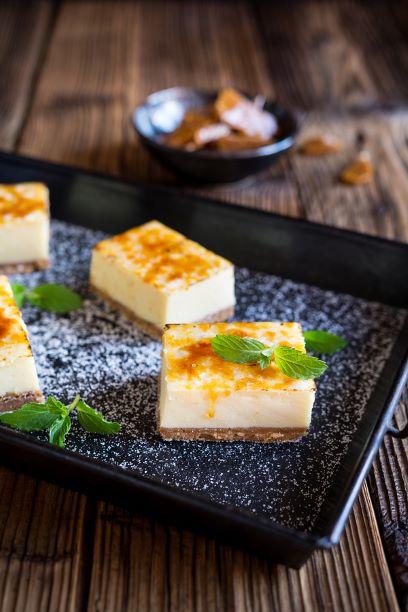 Crème Brûlée Käsekuchen