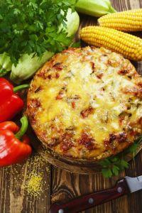 Polenta Zucchini Gratin