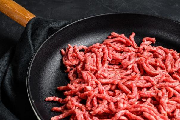 Hackfleisch richtig zubereiten
