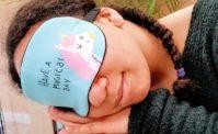 Unicorn sleeping mask