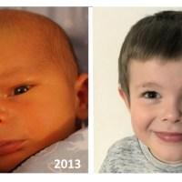 Na 5 urodziny mojego syna Wojtka.
