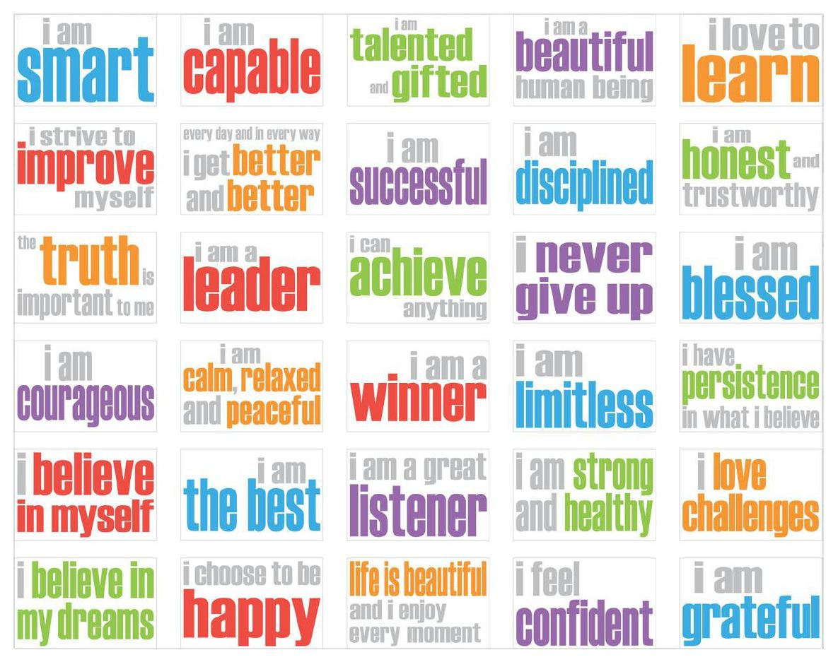 Facebook Freebie Affirmations Mini Poster