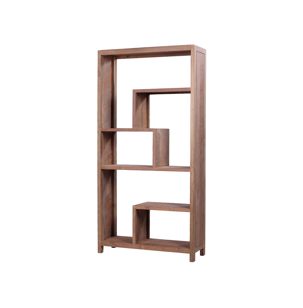 Details About Selong Reclaimed Wood Bookcase