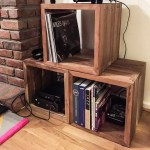 Puyung Reclaimed Wood Storage Cube