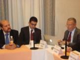 Julián Andrade/Efekto TV, Héctor Villarreral/Notimex y José Carreño/ForoTV-Ibero en la conferencia OMCIM 05jul12