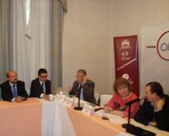 Héctor Villarreal, José Carreño, Regina Santiago y Mario Campos