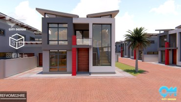 4 Bedroom Duplex Flat design