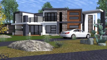 8 Bedroom Mansion design