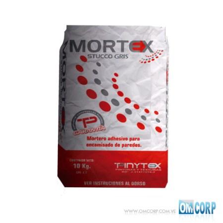 Stucco Gris Mastique Pasta Profesional Mortex 10kg Pinytex es un producto diseñado para el encamisado de paredes logrando un acabado liso