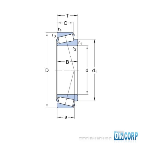 Rodamiento 30205 J2:Q SKF 1