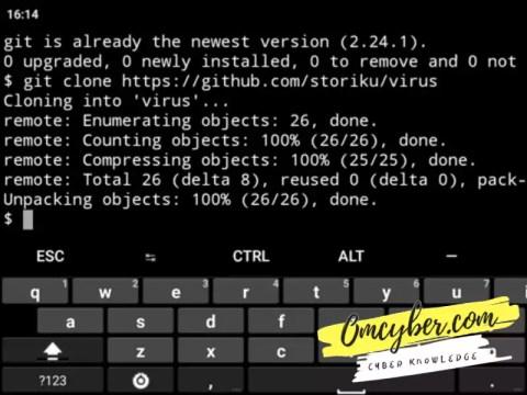 Proses install script vbug