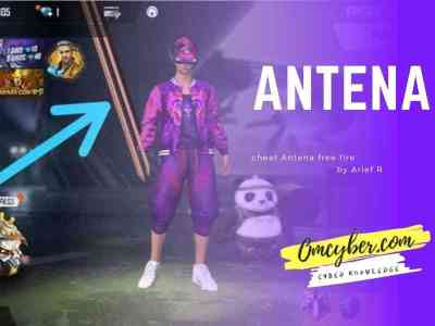 cheat free fire antena