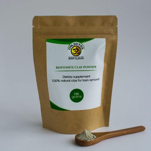 Om Detox Bentonite clay powder